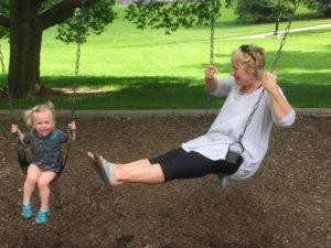 Year of Joy - Helen and grandchild